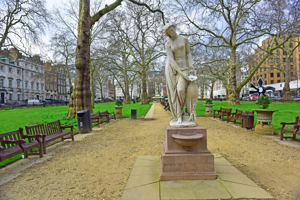 Berkeley Square in london