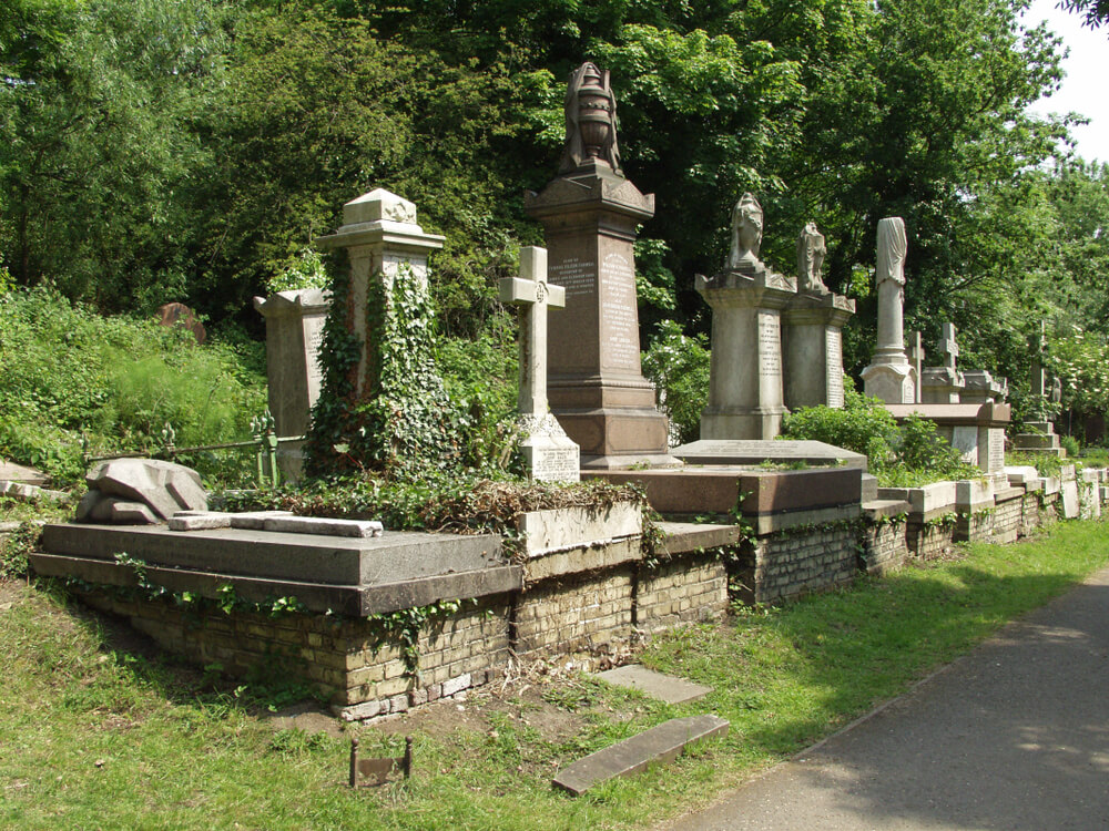 cemetery in London